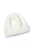Cashmere Heavy Ribbed Hat