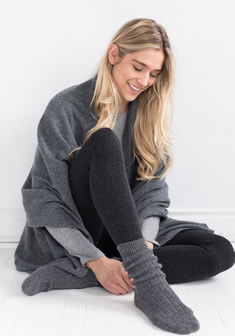 Cashmere 2-Ply Sweater Coat