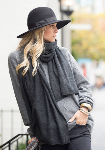 100% Cashmere Wrap Scarf - ONLINE EXCLUSIVE