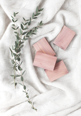 Essential Cedar Blocks ~ Pack of 4