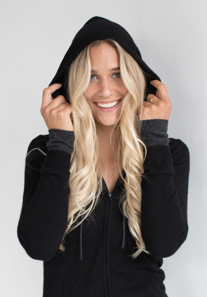 Cashmere Hooded Women