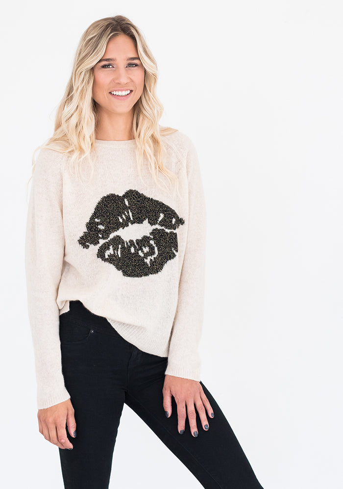 Brodie Kiss Jumper, Antique