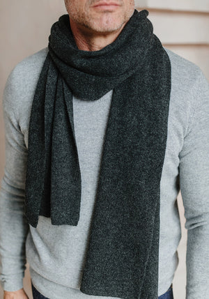 CLASSIC CASHMERE SCARF - MENS