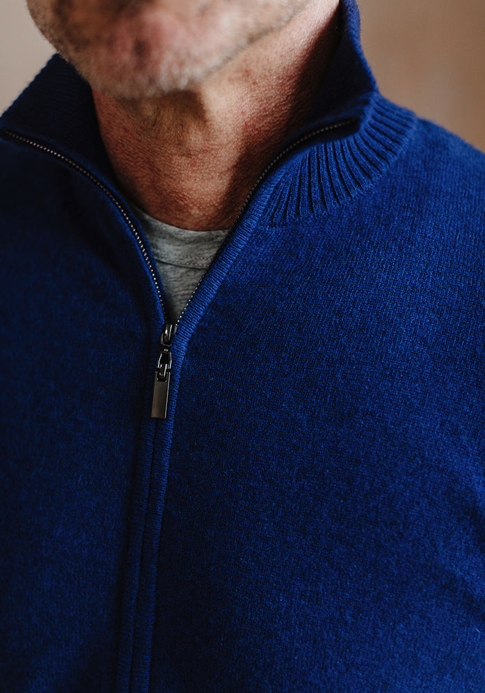 MEN'S FULL ZIPPER - ROYAL BLUE