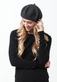 Cashmere Beret - The Cashmere Shop  - 1