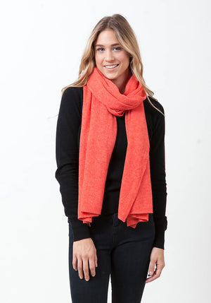 THE EVERYDAY CLASSIC CASHMERE WRAP + SCARF