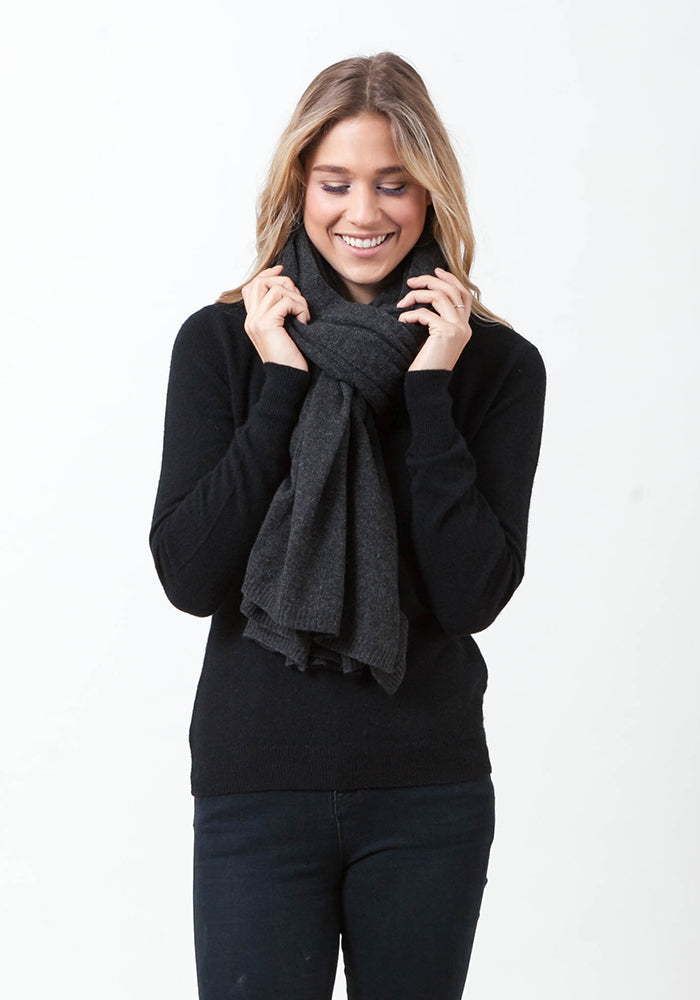 The Everyday Classic Cashmere Wrap and Scarf