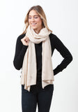 Fern Cashmere Wrap and Scarf - The Cashmere Shop  - 61