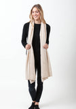 Fern Cashmere Wrap and Scarf - The Cashmere Shop  - 60