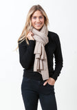 Fern Cashmere Wrap and Scarf - The Cashmere Shop  - 4