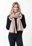 Fern Cashmere Wrap and Scarf - The Cashmere Shop  - 3