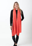 Fern Cashmere Wrap and Scarf - The Cashmere Shop  - 24