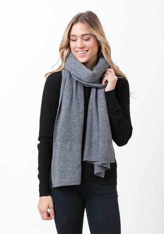 Fern Cashmere Wrap and Scarf