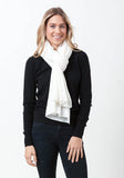 Fern Cashmere Wrap and Scarf - The Cashmere Shop  - 22