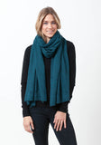 Fern Cashmere Wrap and Scarf - The Cashmere Shop  - 40