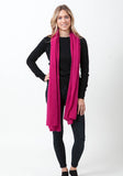 Fern Cashmere Wrap and Scarf - The Cashmere Shop  - 6