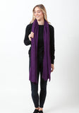 Fern Cashmere Wrap and Scarf - The Cashmere Shop  - 45