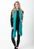 Fern Cashmere Wrap and Scarf - The Cashmere Shop  - 35