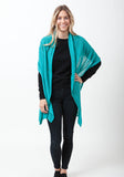 Fern Cashmere Wrap and Scarf - The Cashmere Shop  - 33