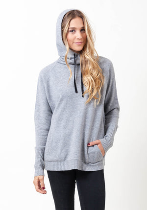 Hooded Cashmere Cowl Boyfriend - The Cashmere Shop  - 8