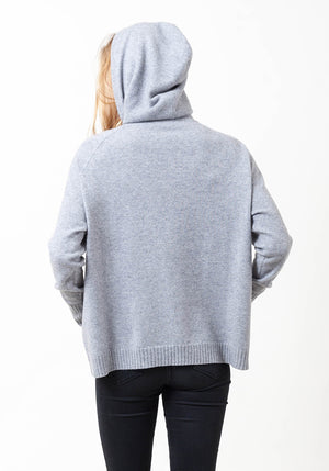 Hooded Cashmere Cowl Boyfriend - The Cashmere Shop  - 7
