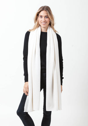 Extra Big Classic Wrap - The Cashmere Shop  - 16