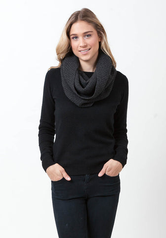 Cashmere Textured Snood