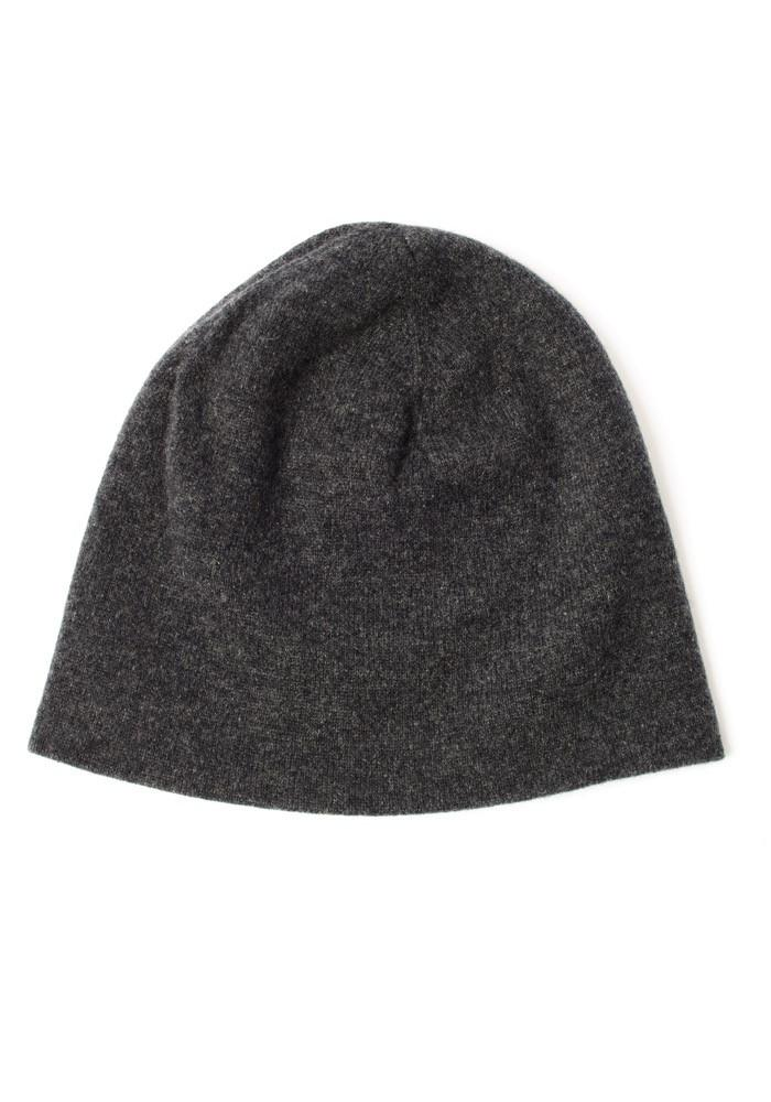 Charcoal Cashmere Hat