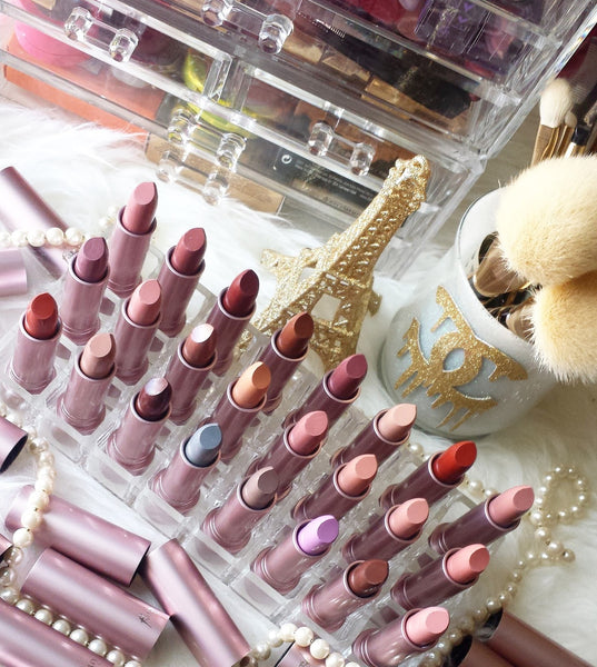 Monica Hein aka ♥ villemo20 ♥ reviews and swatches Fairygirl lipsticks