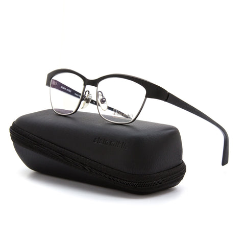 Alain Mikli AL 1042 Womens Eyeglasses 0001 Black Frame Demo Prescription Lenses