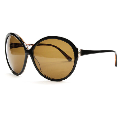 Blinde Eyewear Womens Sunglasses Way Hot Black Brown Zebra Striped / Brown Lens