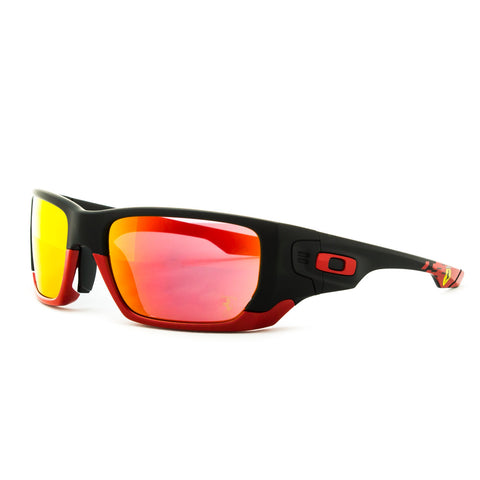 Oakley Sunglasses OO9194-24 Scuderia Ferrari Style Switch Matte Black / Ruby Iri