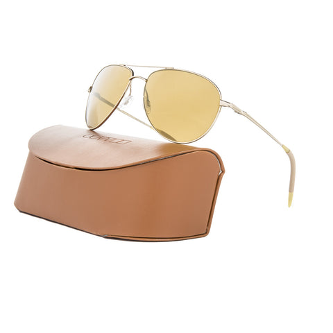 Oliver Peoples OV1002S Benedict Sunglasses 5035/W4 Gold / Gold Mirror