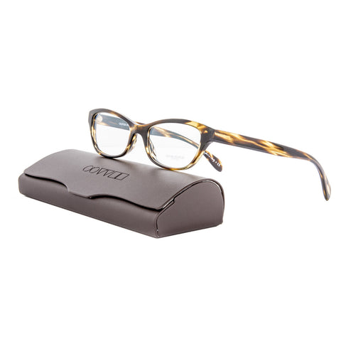 Oliver Peoples OV5161 Luv Eyeglasses 1003 Cocobolo Brown / RX Clear Lens 49 mm