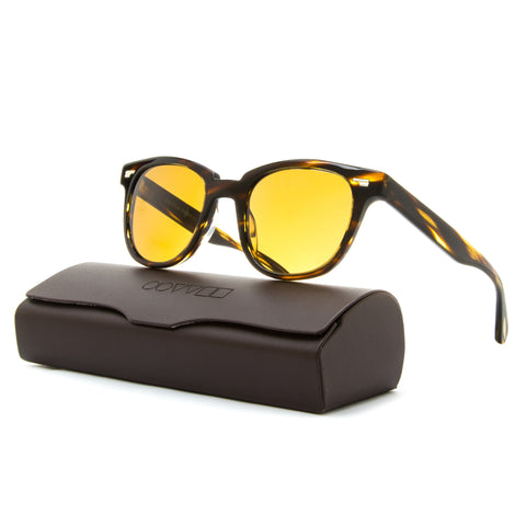 Oliver Peoples 5301SU Sunglasses Masek 100353 Cocobolo / Brown Cosmik Tone Glass