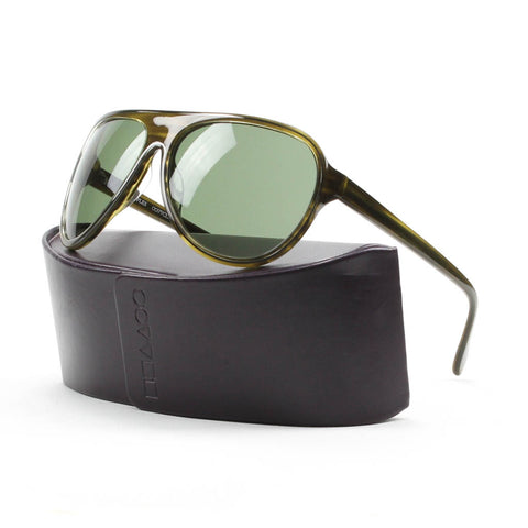 Oliver Peoples Gadson Sunglasses Col. OT 4677 Olive Tortoise with Olive Lenses