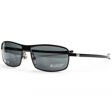 Starck Eyes Sunglasses PL 1031 Col. 0121 Black with Grey Polarized Lenses