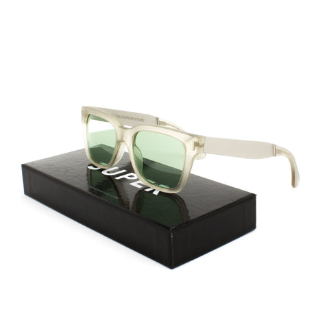 RETROSUPERFUTURE Super America Sunglasses SU0UP Francis Industria Matte Crystal