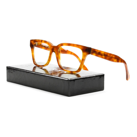 RETROSUPERFUTURE America Eyeglasses 625 Light Havana Brown Frame / RX Clear Lens