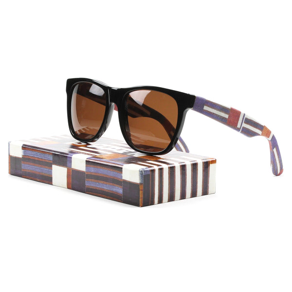 RETROSUPERFUTURE Super Classic 799 Sunglasses Sierra Leone Fabric / Brown Lens