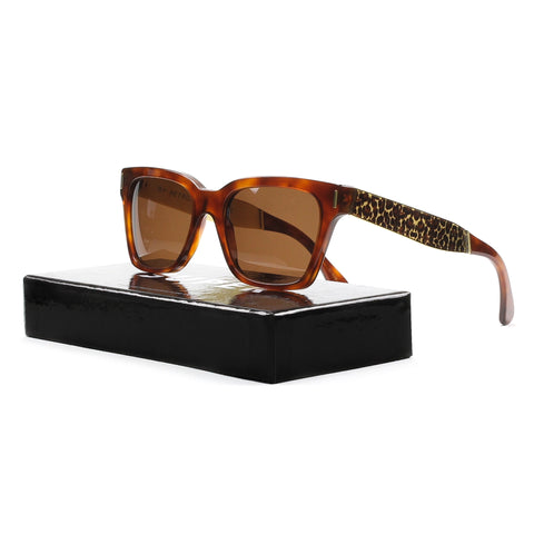RETROSUPERFUTURE Super America Sunglasses SU926 Francis Leopard Brown Havana