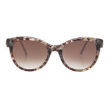 Thierry Lasry Flirty Sunglasses V376 Grey & Burgundy Vintage / Brown Gradient