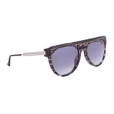 Thierry Lasry Vandaly Sunglasses CF4 Grey Tortoise Stripe / Grey Gradient