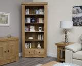 Bordeaux Oak Large Bookcase
