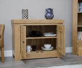 Bordeaux Oak Occasional Cupboard