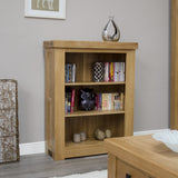Bordeaux Oak Small Bookcase