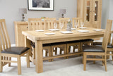 Stratford Grand Oak Extending Table