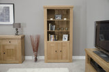 Stratford Oak 2 Door Bookcase