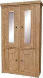 Stratford Oak Display Unit