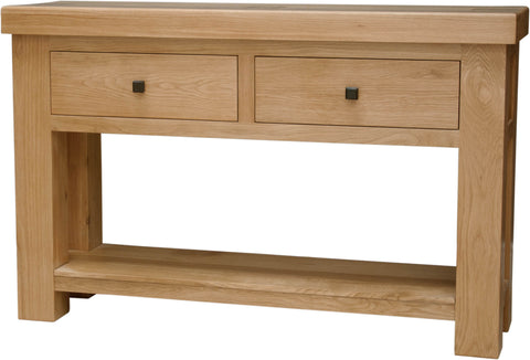 Stratford Oak Console Table